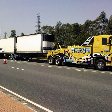 Heavy Vehicle Accident Towing